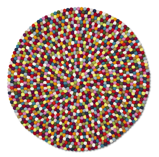 FET_Liebhaverboligen_Tæpper_Pinocchio Multicolour Ø90