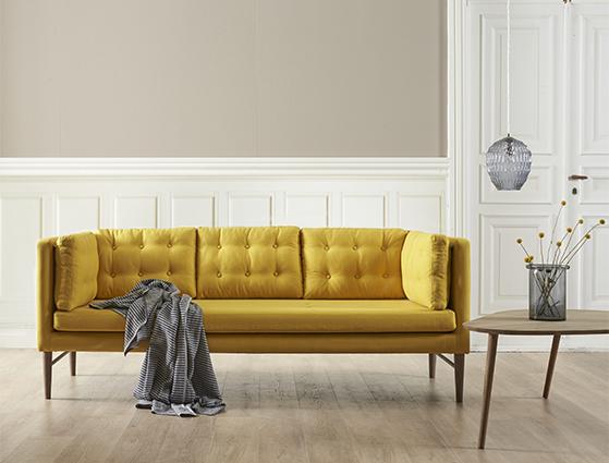 ilva stribet sofa