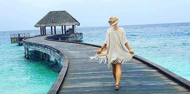 En bid af paradis på Maldiverne