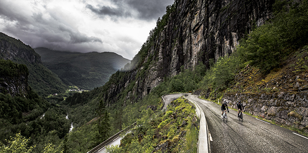 Danske cyklister skifter gear