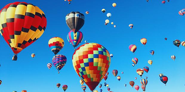 Drømmende luftballoner