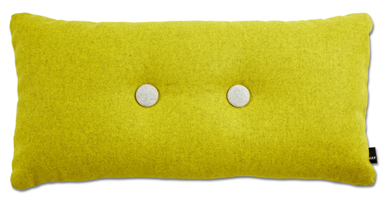 Hay_Pude_Dot Cushion 2x2  Divina Melange Yellow