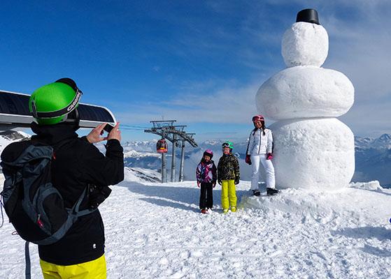 FET_Østrig_Liebhaverboligen_rejser_Skiferie_Der er skiløb for alle i Zell am See-Kaprun. Og naturlgvis kan man leje en skillærer som taler dansk.