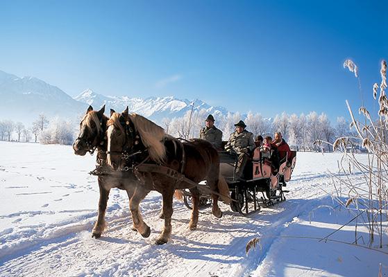 FET_Østrig_Liebhaverboligen_rejser_Skiferie_Kælk, skøjter eller kane. Mulighederne for anderledes oplevelser i Zell am See er mange