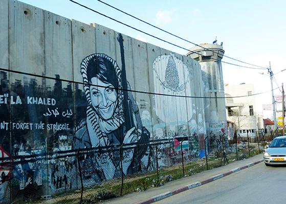 FET_Muren omkring Bethlehem er fuld af grafitti