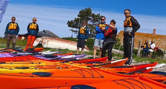 FET_Samsø_Øferie_Et 2-timers kursus i havkajak koster 225 kroner. Foto- Johnni Balslev