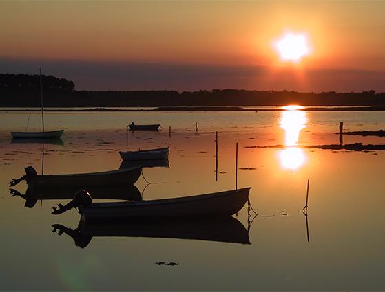FET_Samsø_Øferie_Langoer-VisitSamsoe1.jpg, solnedgang over Samsø