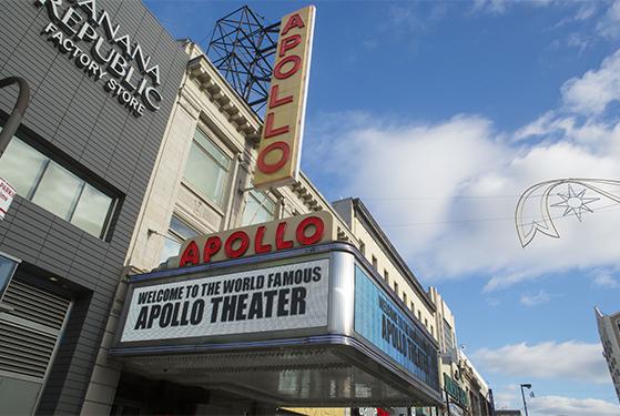 The Apollo, Harlem, Manhattan.