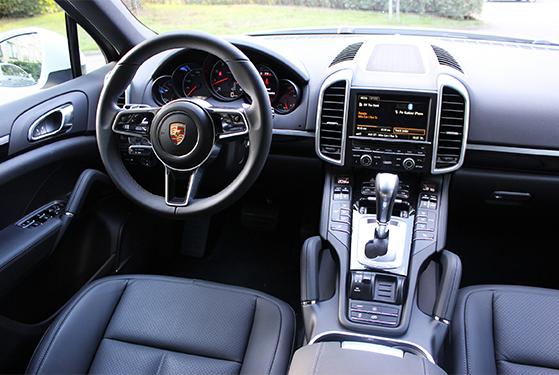 FET_Liebhaverbilen_Porsche interiør