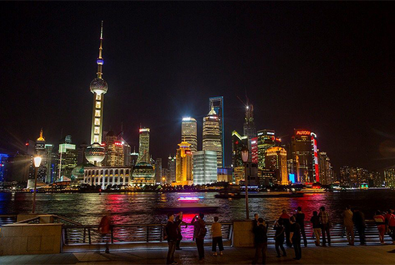FET_Rejsereportage_Kina_TShanghais skyline