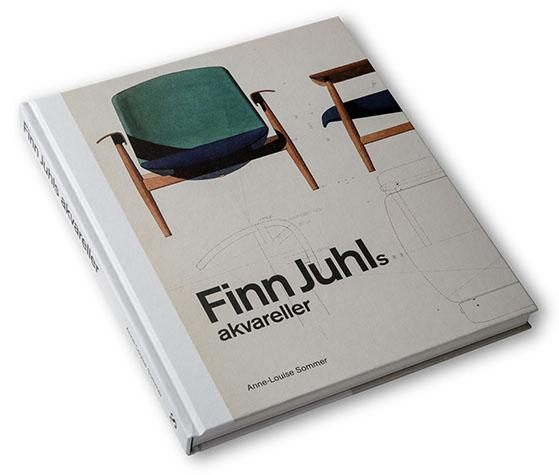 FET_Bungalow_Bøger_Finn Juhls akvareller
