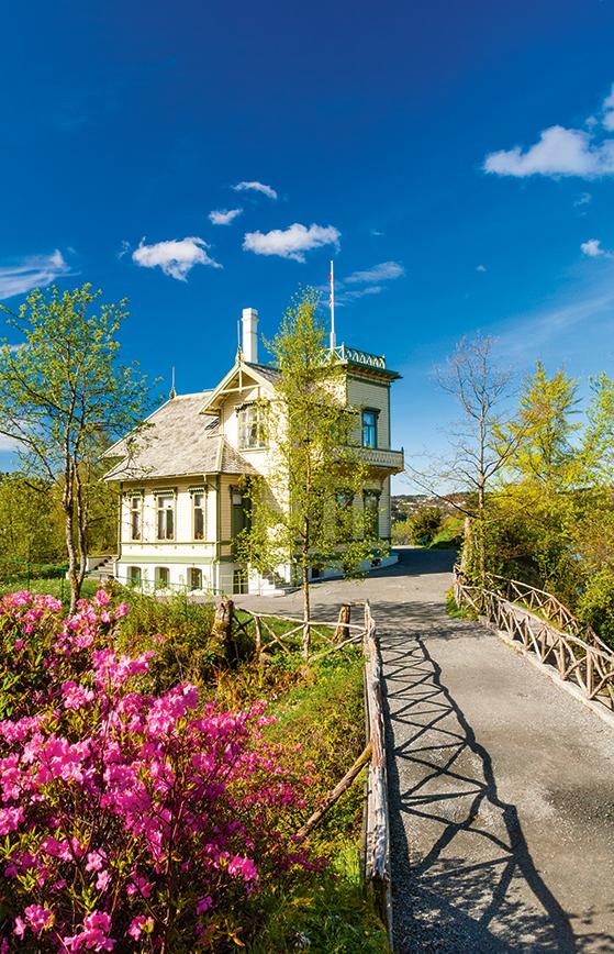 FET_Edward-Griegs-hus-på-Troldhaugen.-Foto-Bergen-Reiselivslag