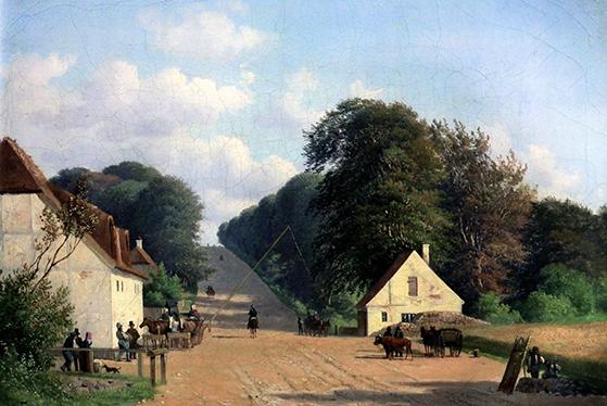 FET_Søllerød_Foreninger_Andreas-Juuel--Geels-Bakke-ved-Røjels-Bom,-1851